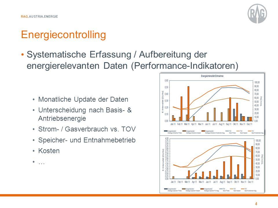 Energiecontrolling Systematische Erfassung / Aufbereitung der energierelevanten Daten (Performance-Indikatoren)