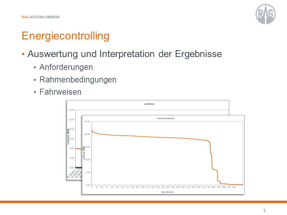 Energiecontrolling Auswertung und Interpretation der Ergebnisse