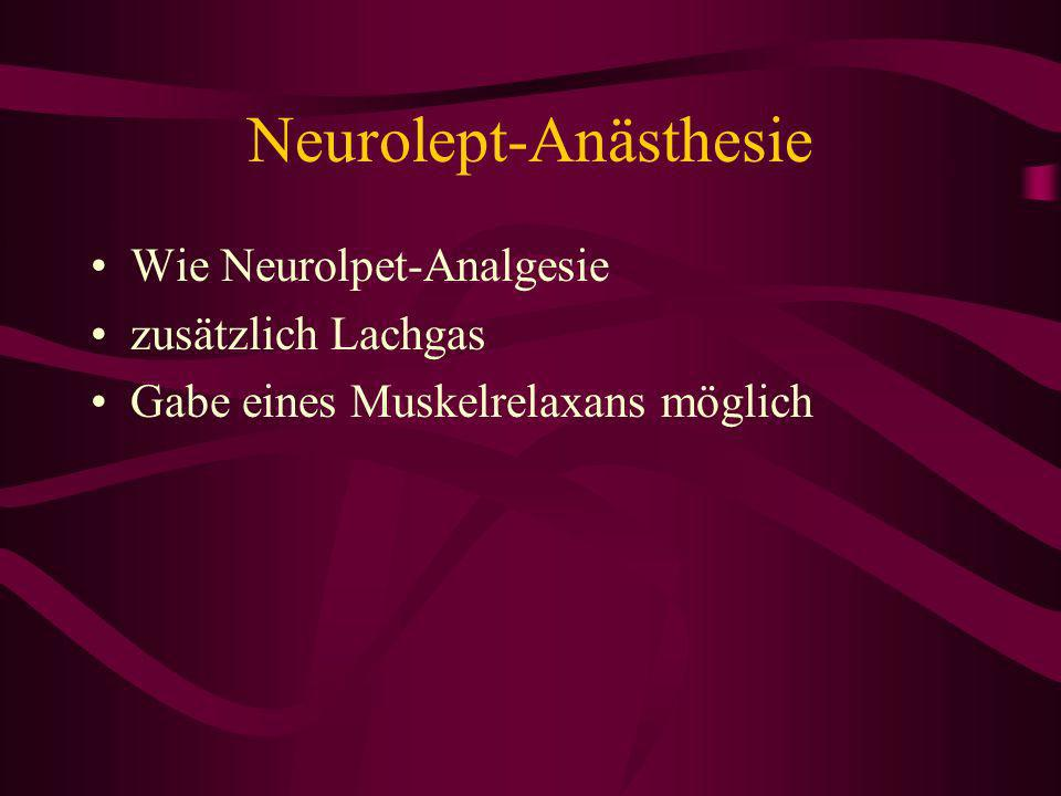 Neurolept-Anästhesie