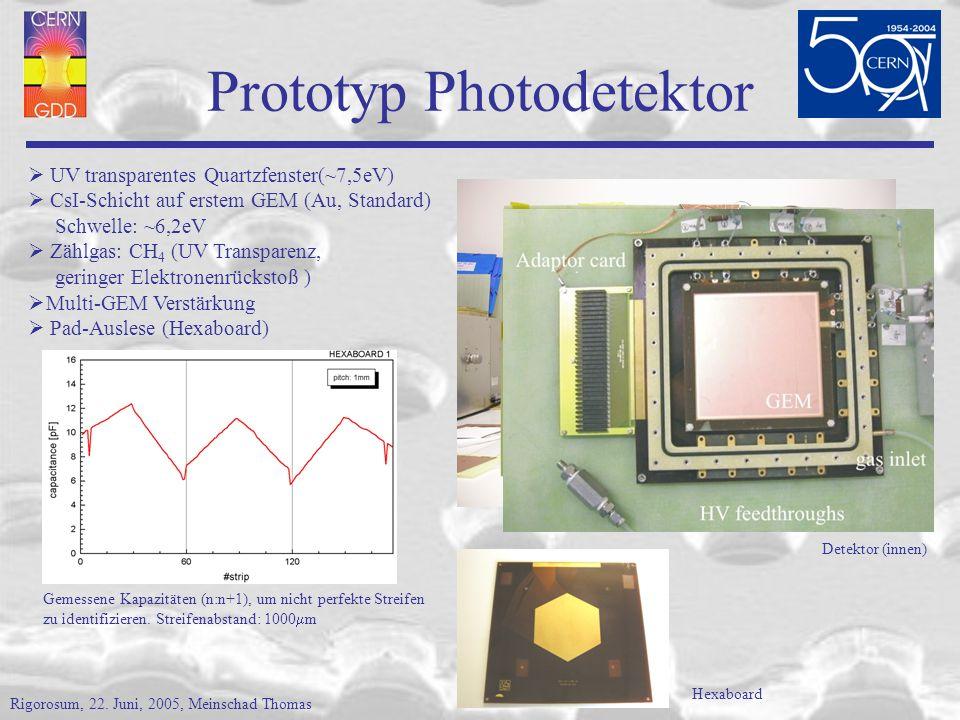 Prototyp Photodetektor