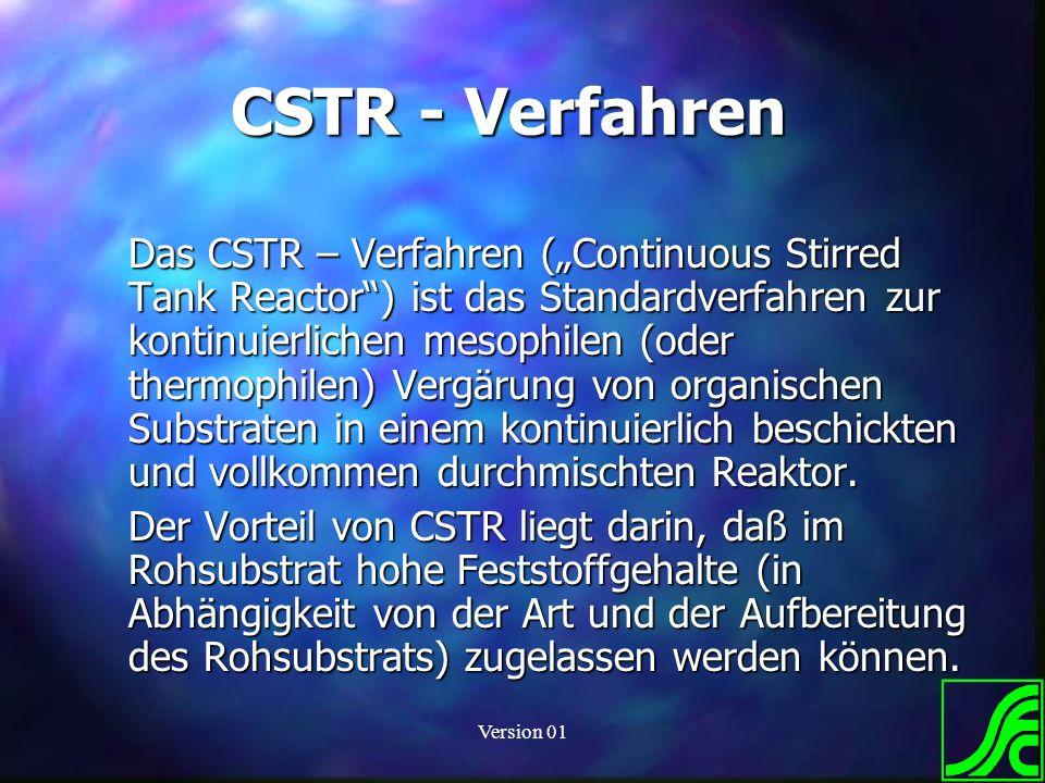 CSTR - Verfahren