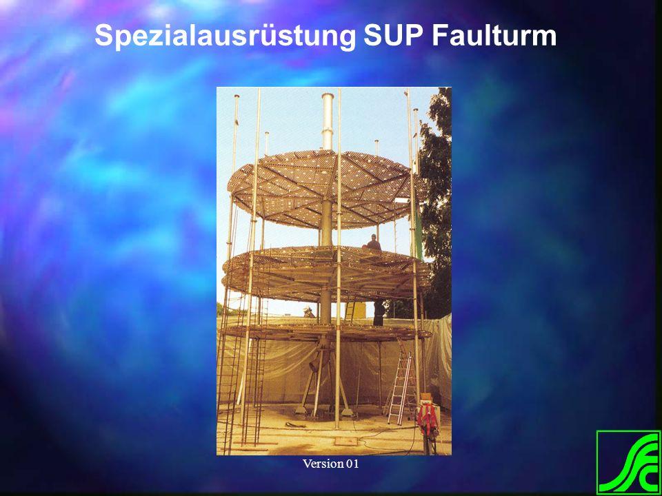 Spezialausrüstung SUP Faulturm