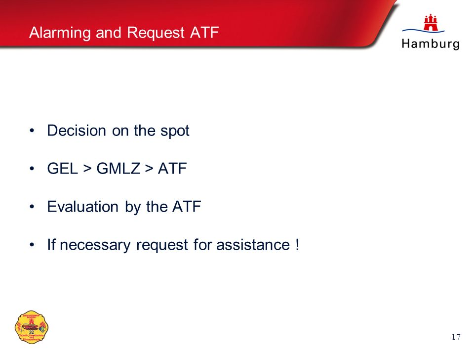 Alarming and Request ATF