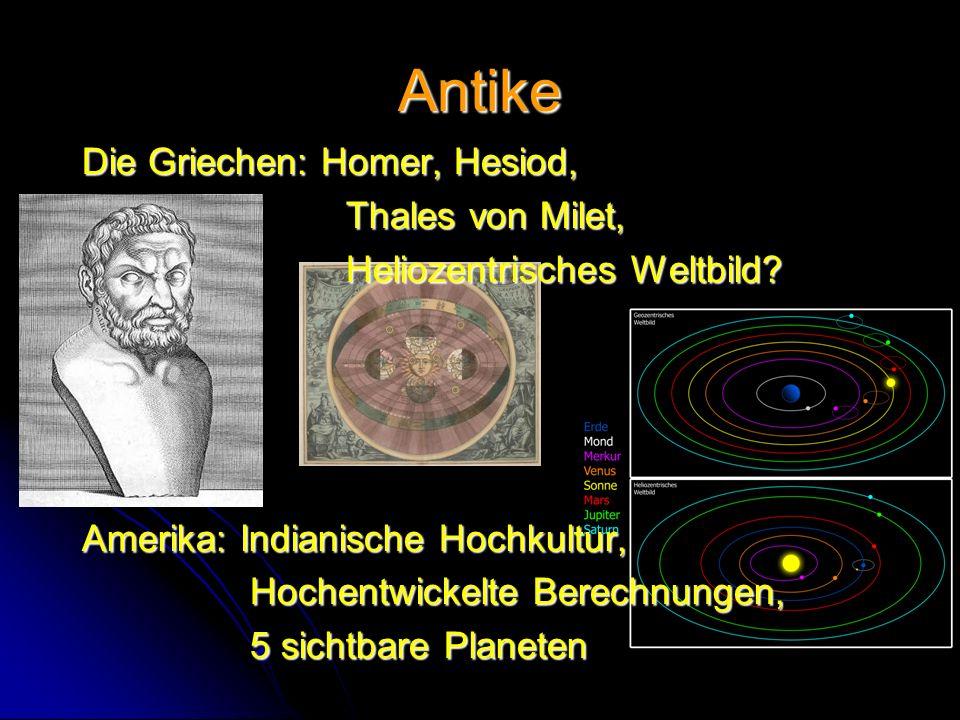Antike Die Griechen: Homer, Hesiod, Thales von Milet,