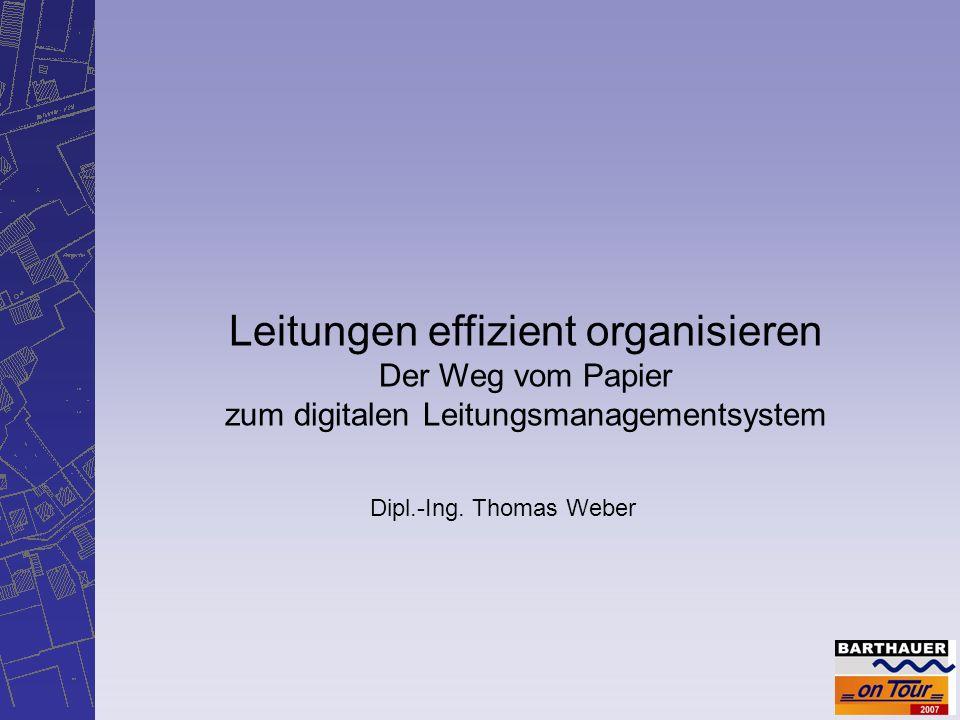 Leitungen effizient organisieren