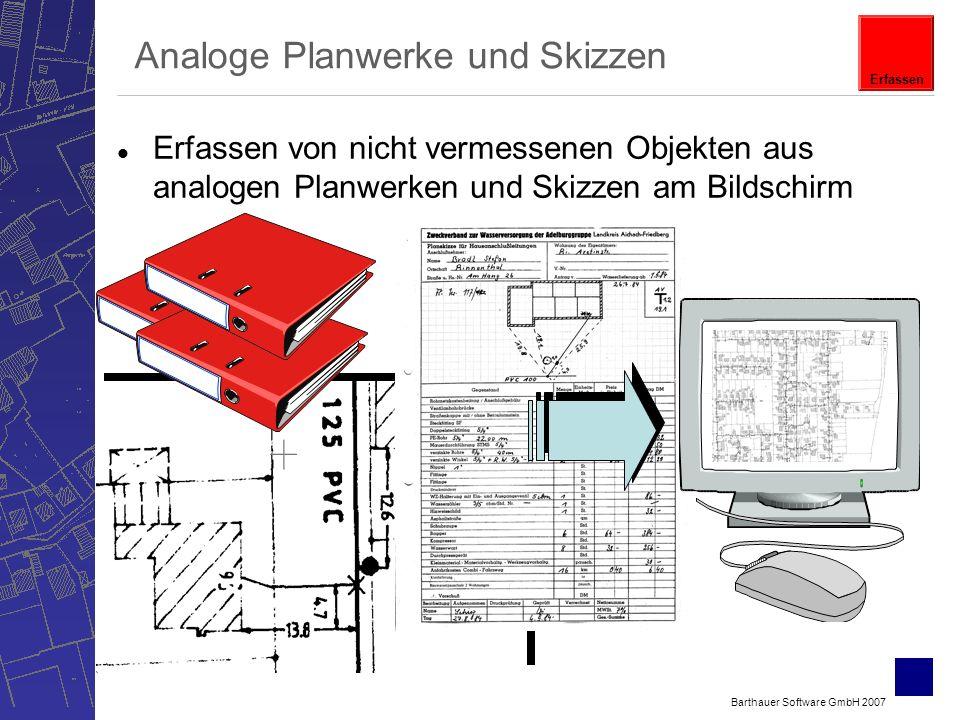 Analoge Planwerke und Skizzen