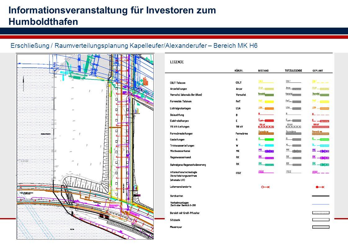 Informationsveranstaltung für Investoren zum Humboldthafen