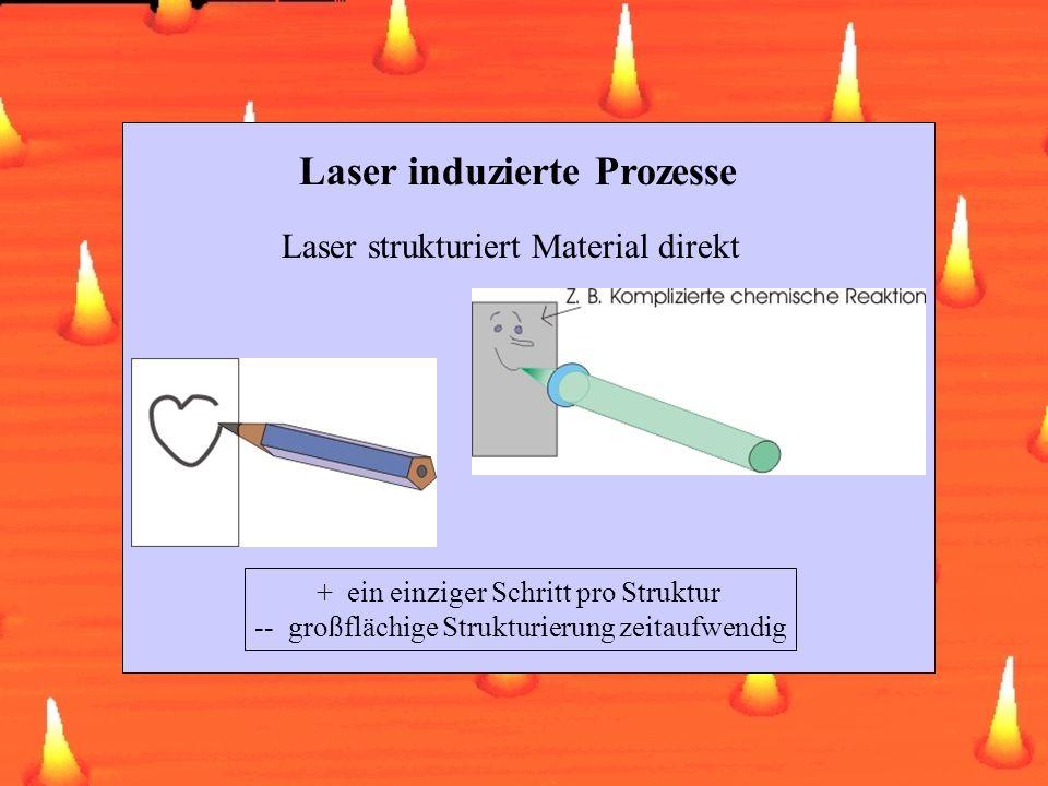 Laser induzierte Prozesse