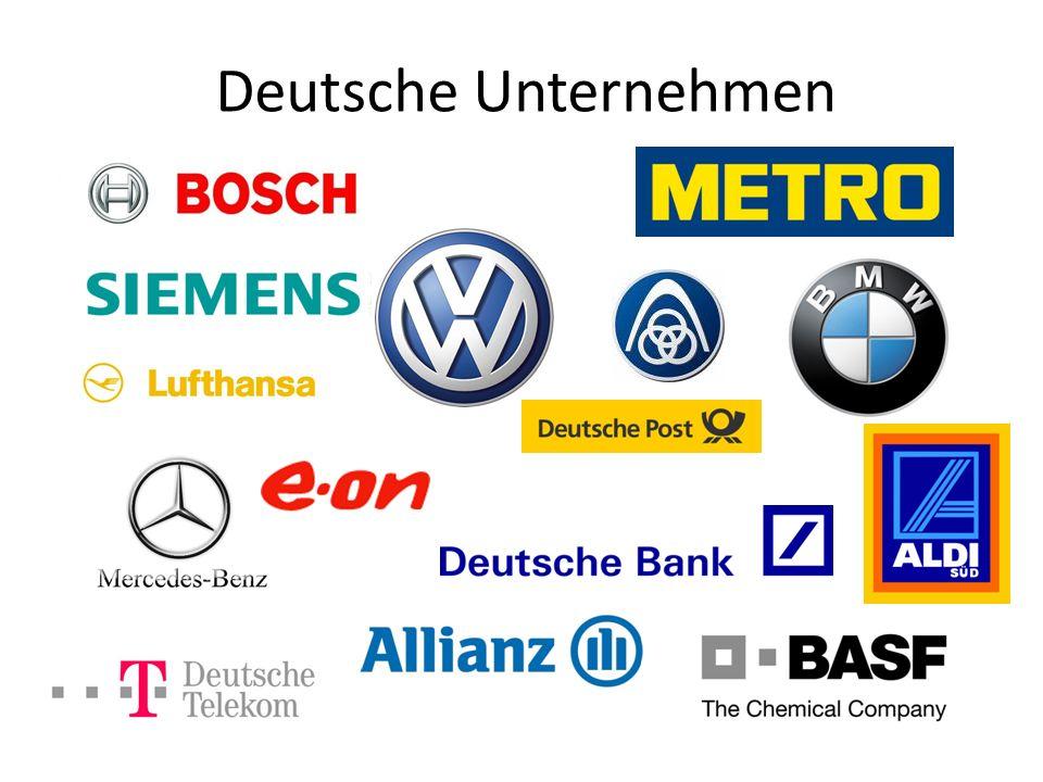Deutsche Unternehmen