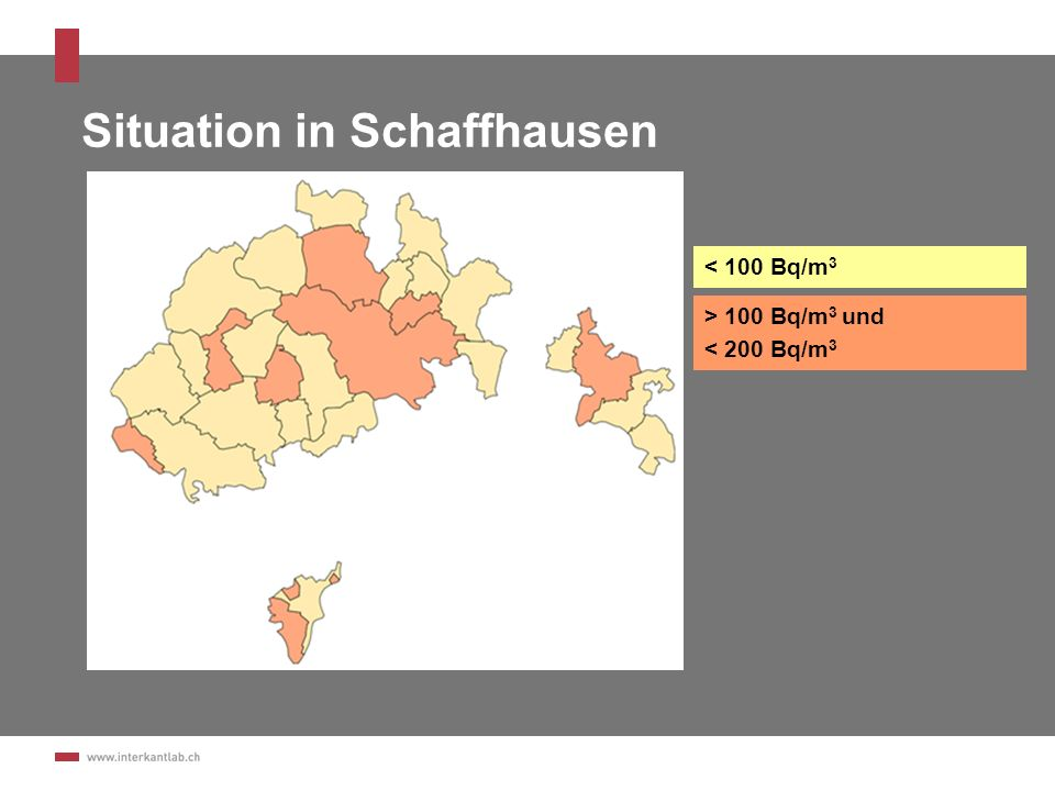 Situation in Schaffhausen