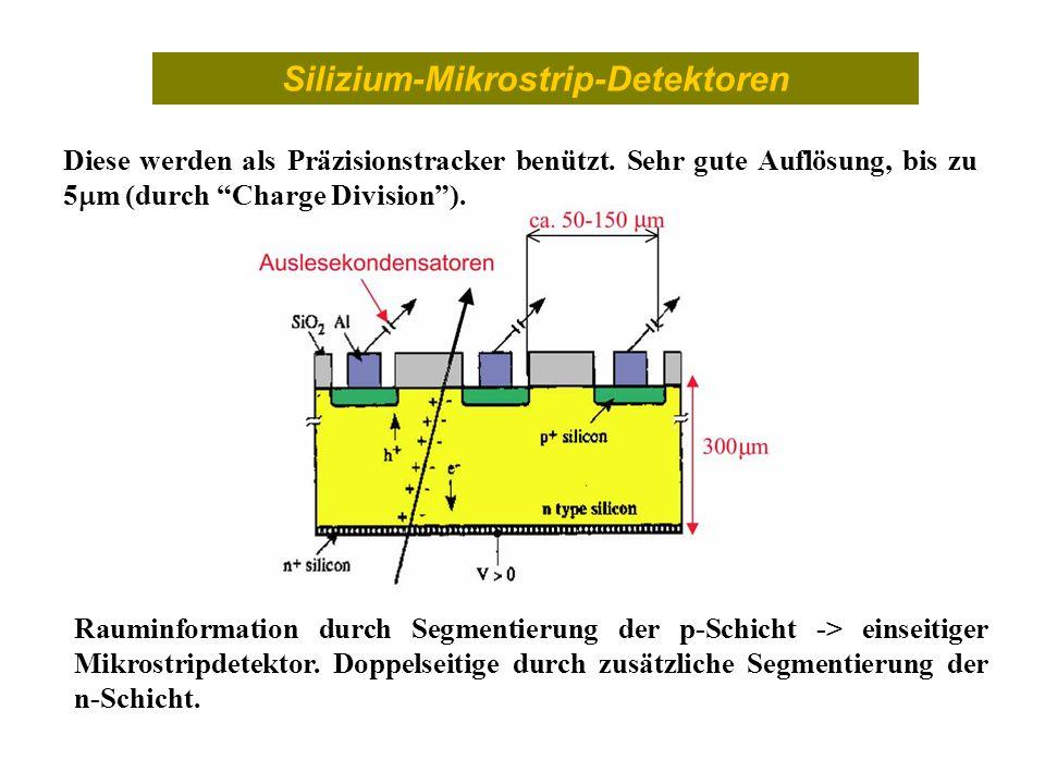 Silizium-Mikrostrip-Detektoren