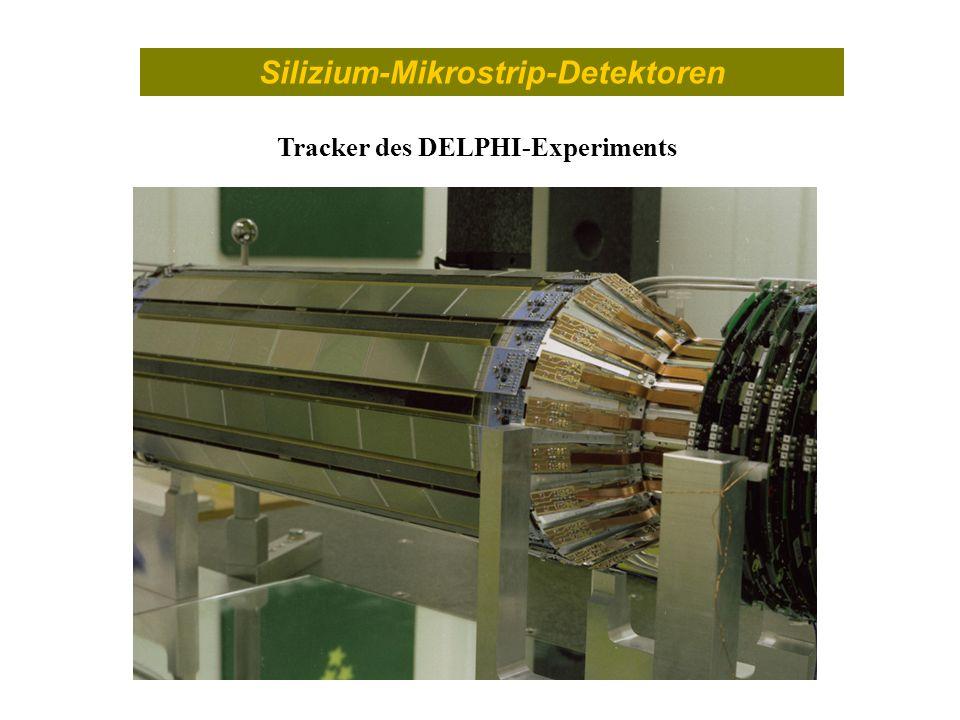Silizium-Mikrostrip-Detektoren Tracker des DELPHI-Experiments