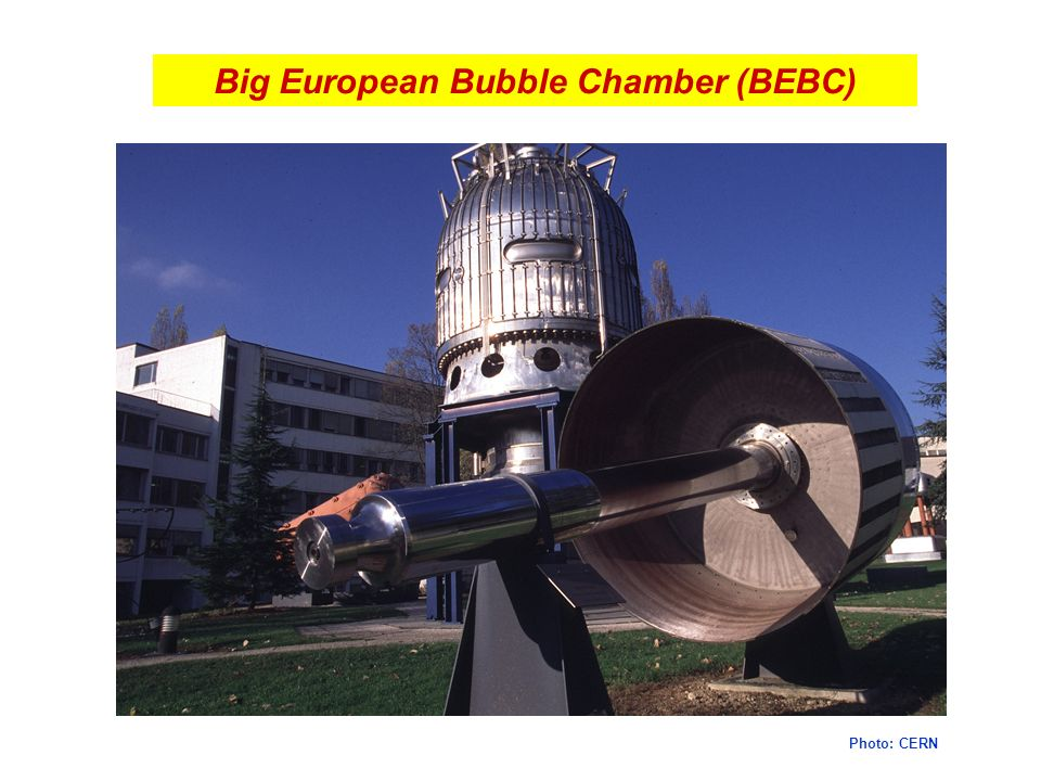 Big European Bubble Chamber (BEBC)