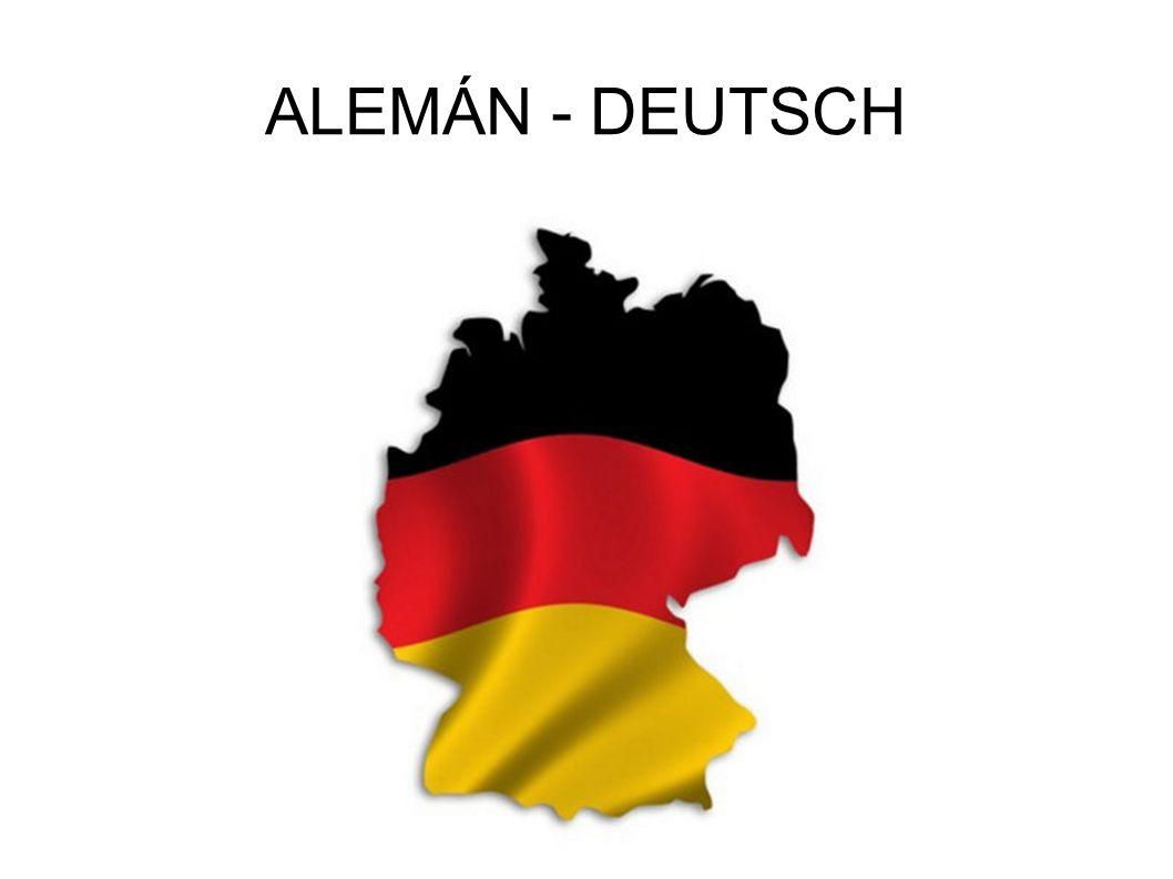 ALEMÁN - DEUTSCH