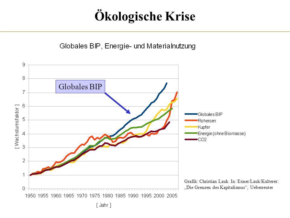 Ökologische Krise Globales BIP