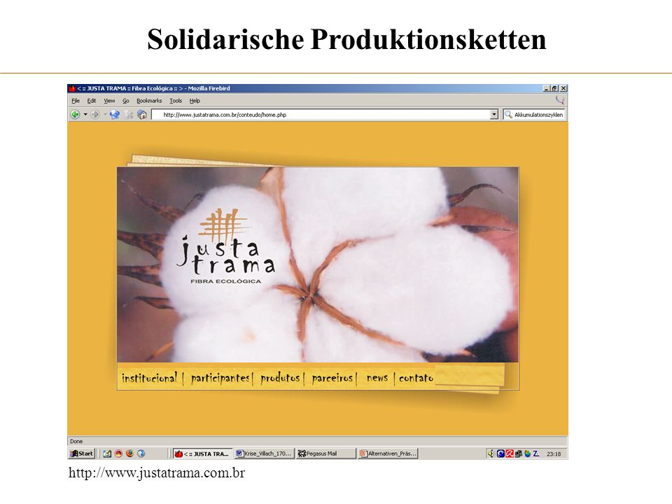Solidarische Produktionsketten