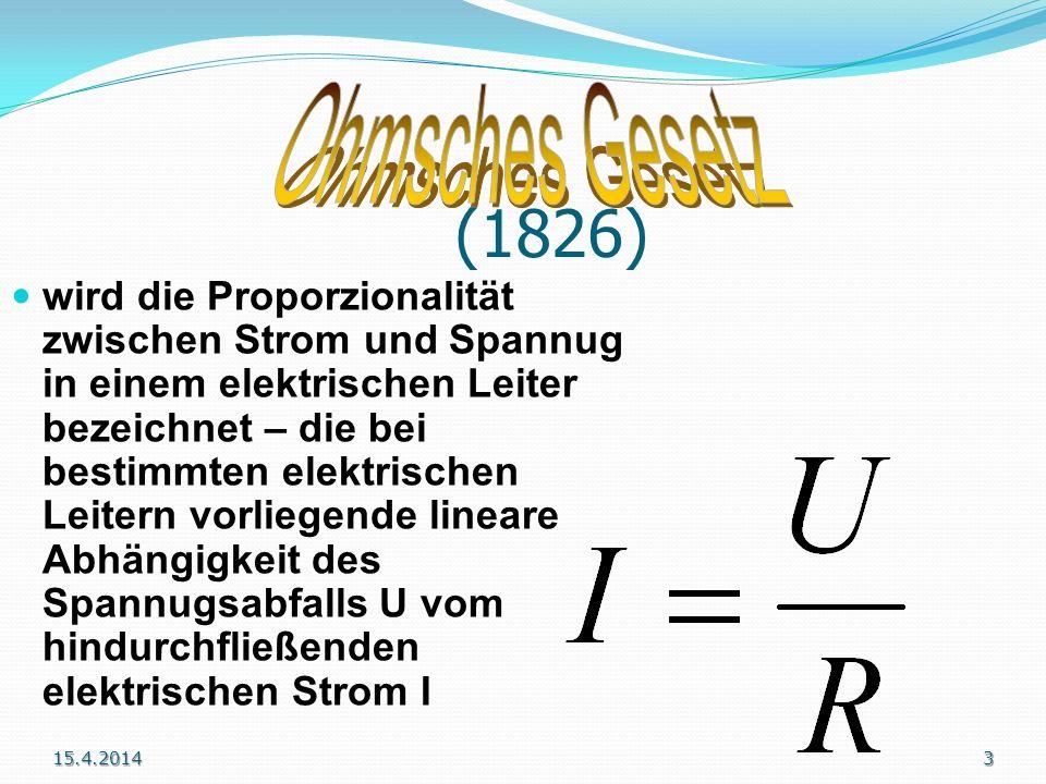 Ohmsches Gesetz (1826)