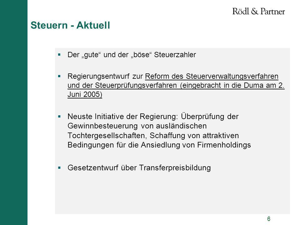 """Steuern - Aktuell Der """"gute und der """"böse Steuerzahler."""