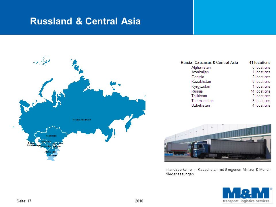 Russland & Central Asia