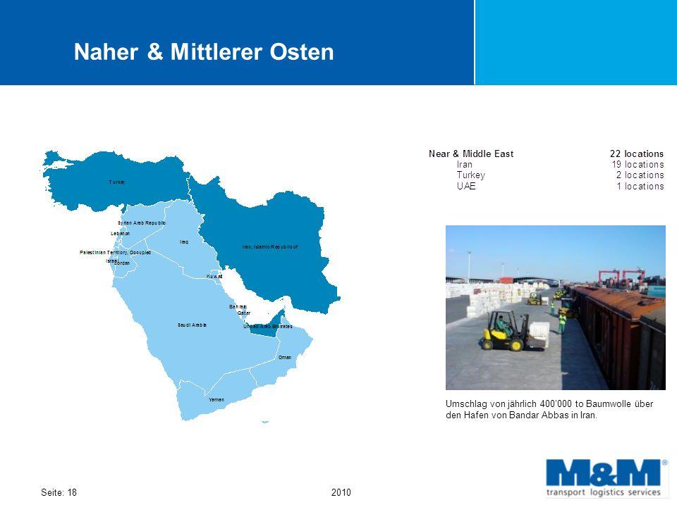 Naher & Mittlerer Osten