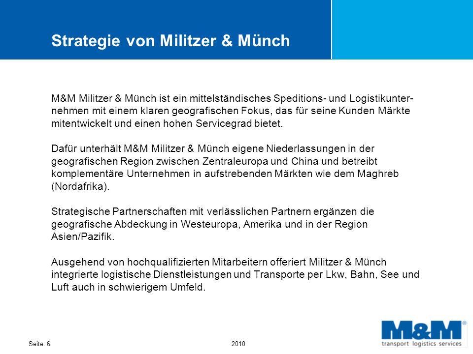 Strategie von Militzer & Münch