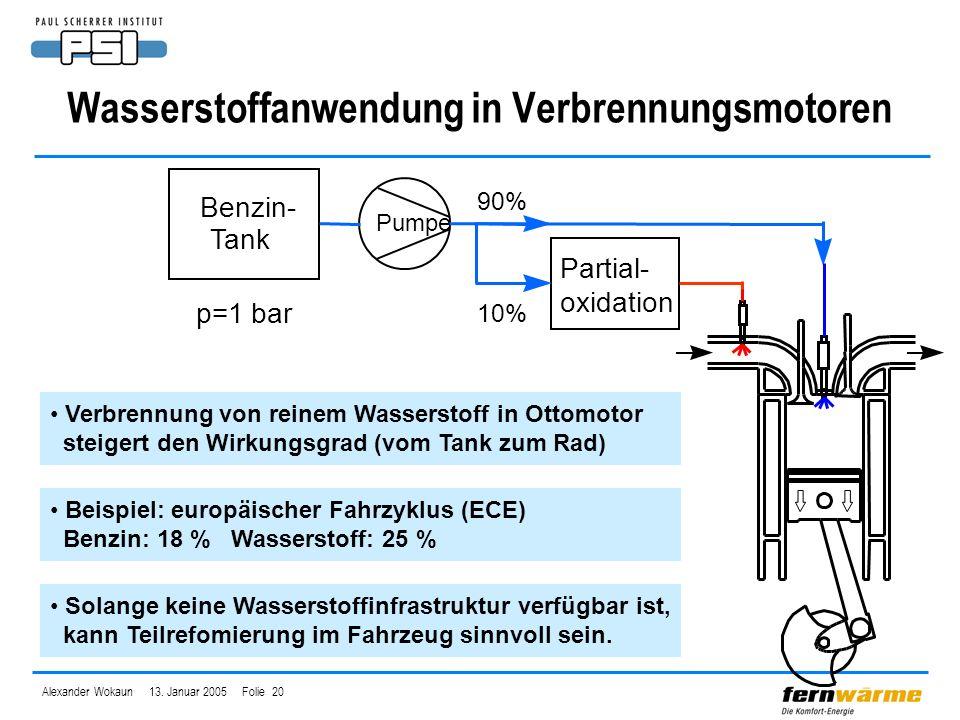 Wasserstoffanwendung in Verbrennungsmotoren