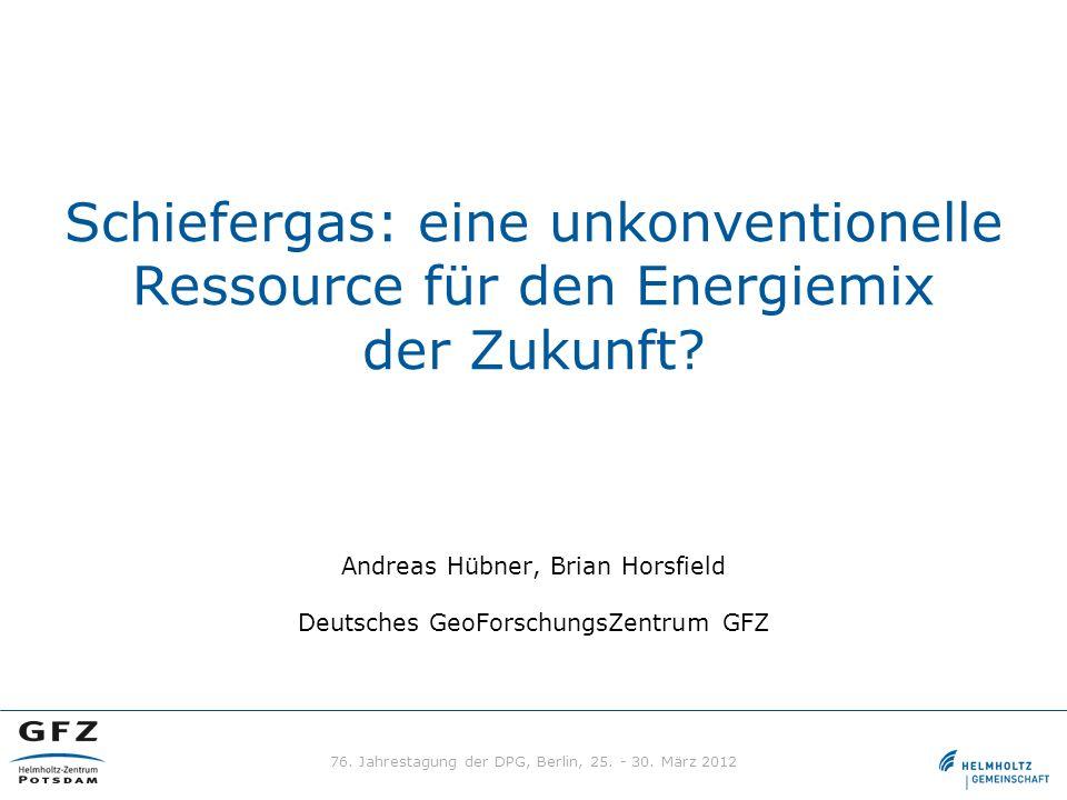 76. Jahrestagung der DPG, Berlin, 25. - 30. März 2012
