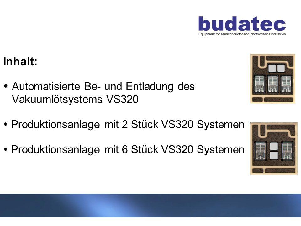 Inhalt: . Automatisierte Be- und Entladung des