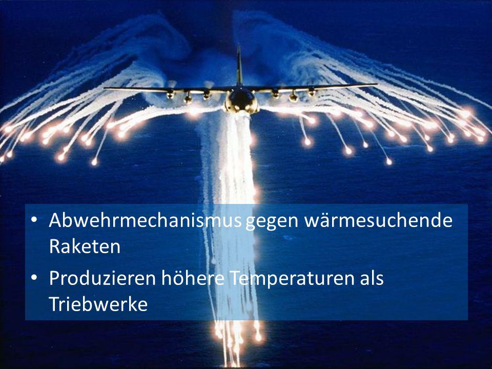 Abwehrmechanismus gegen wärmesuchende Raketen