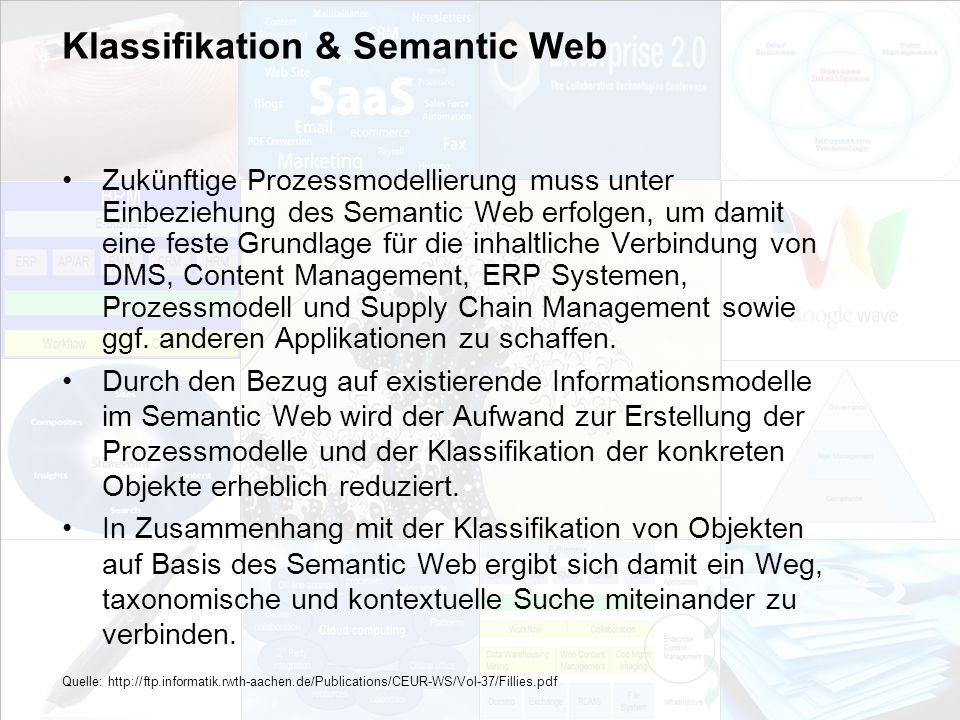 Klassifikation & Semantic Web