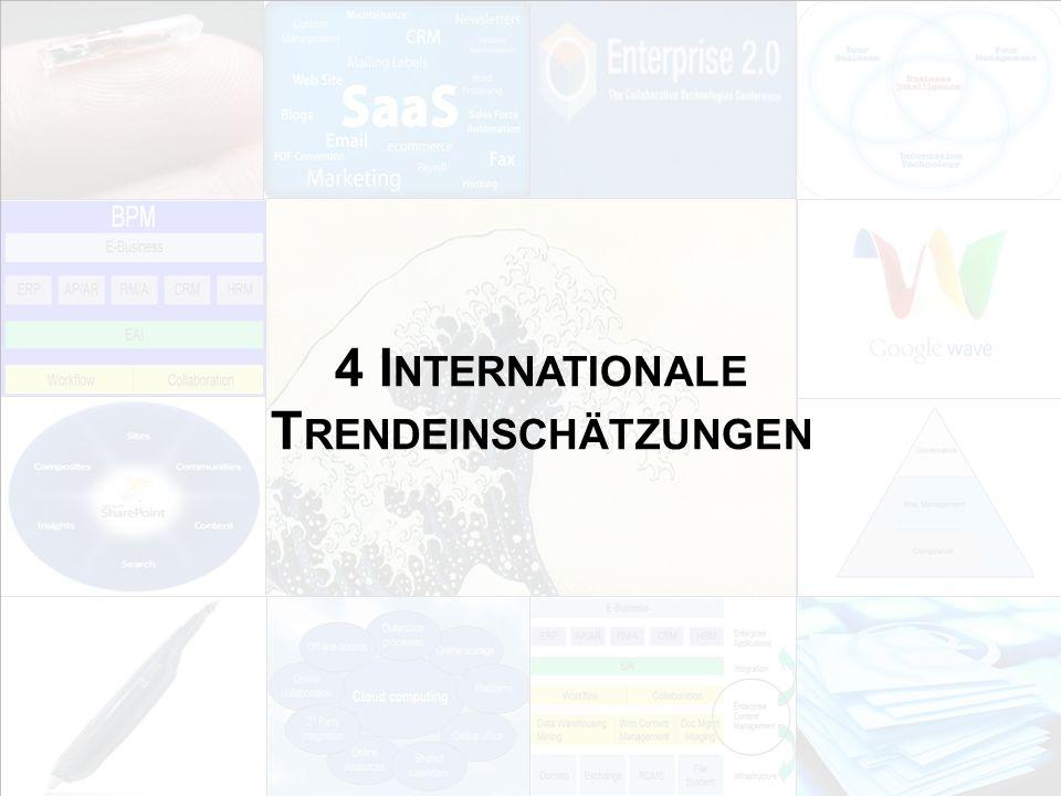4 Internationale Trendeinschätzungen