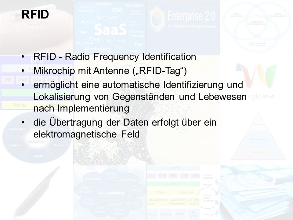 RFID RFID - Radio Frequency Identification