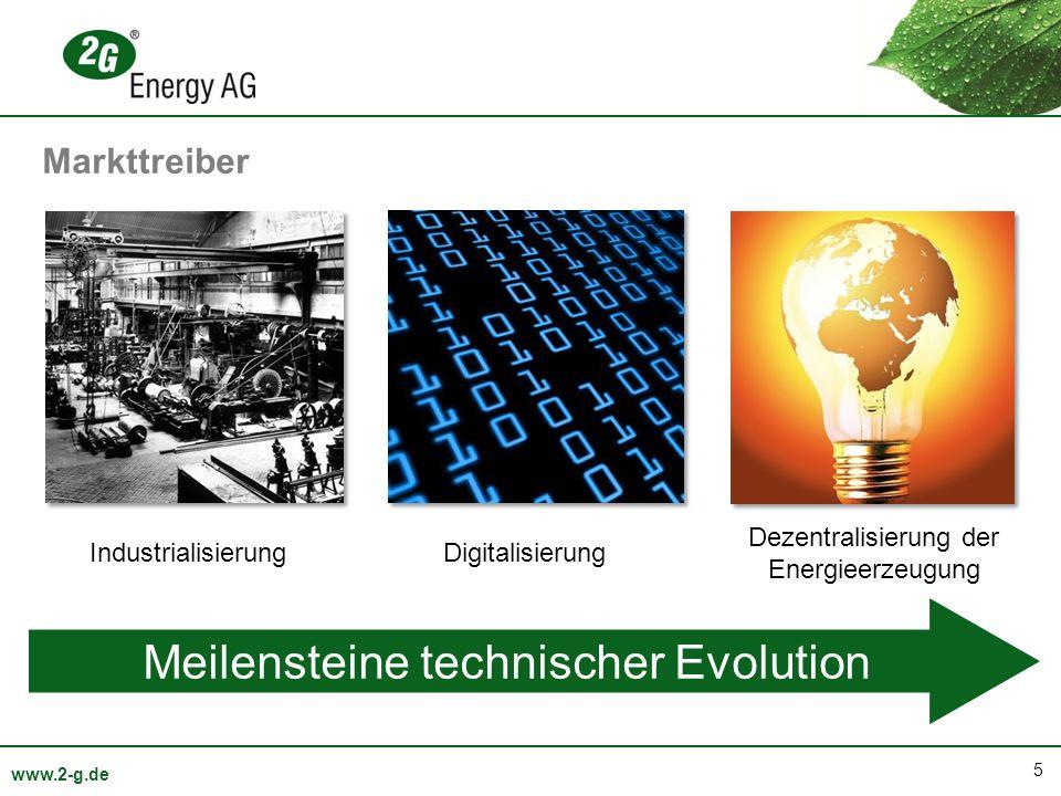 Meilensteine technischer Evolution
