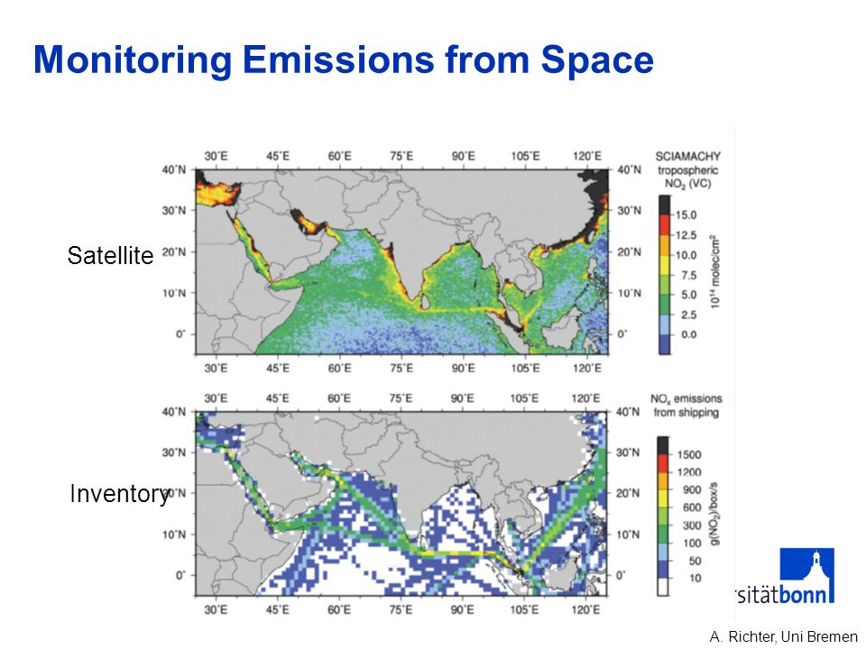 Monitoring Emissions from Space