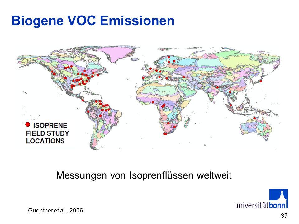 Biogene VOC Emissionen