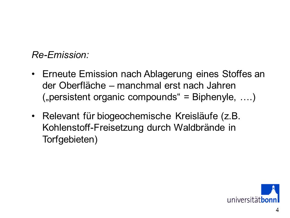 Re-Emission: