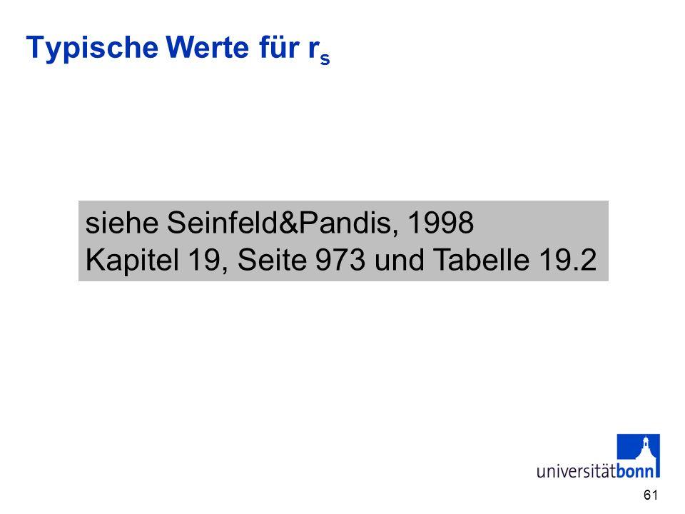 Typische Werte für rs siehe Seinfeld&Pandis, 1998 Kapitel 19, Seite 973 und Tabelle 19.2