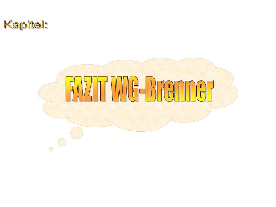 Kapitel: FAZIT WG-Brenner