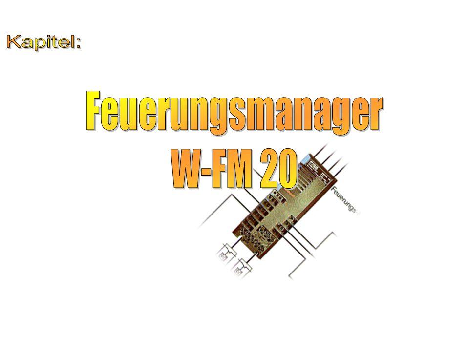 Kapitel: Feuerungsmanager W-FM 20