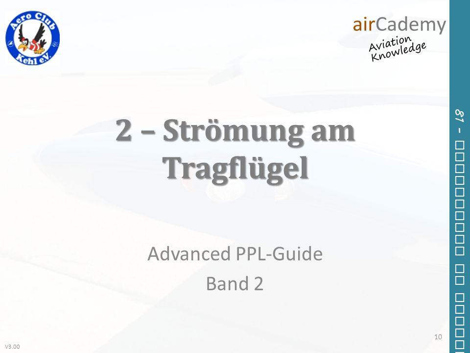 2 – Strömung am Tragflügel
