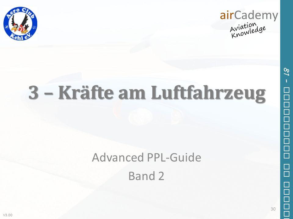 3 – Kräfte am Luftfahrzeug