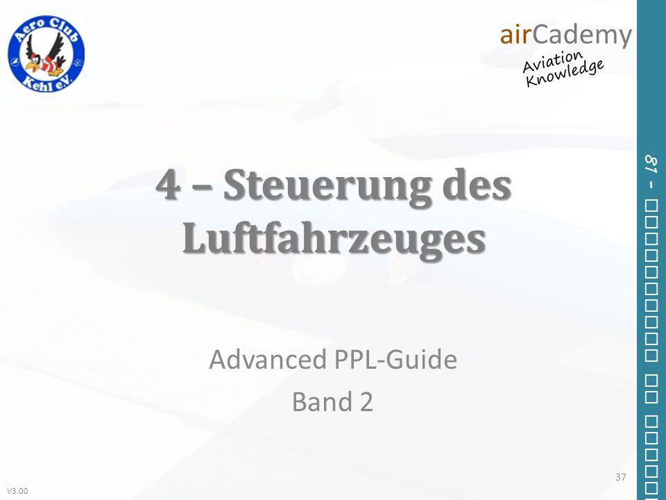 4 – Steuerung des Luftfahrzeuges