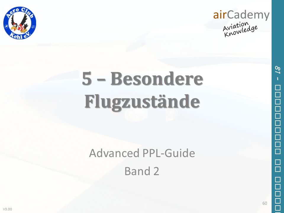 5 – Besondere Flugzustände