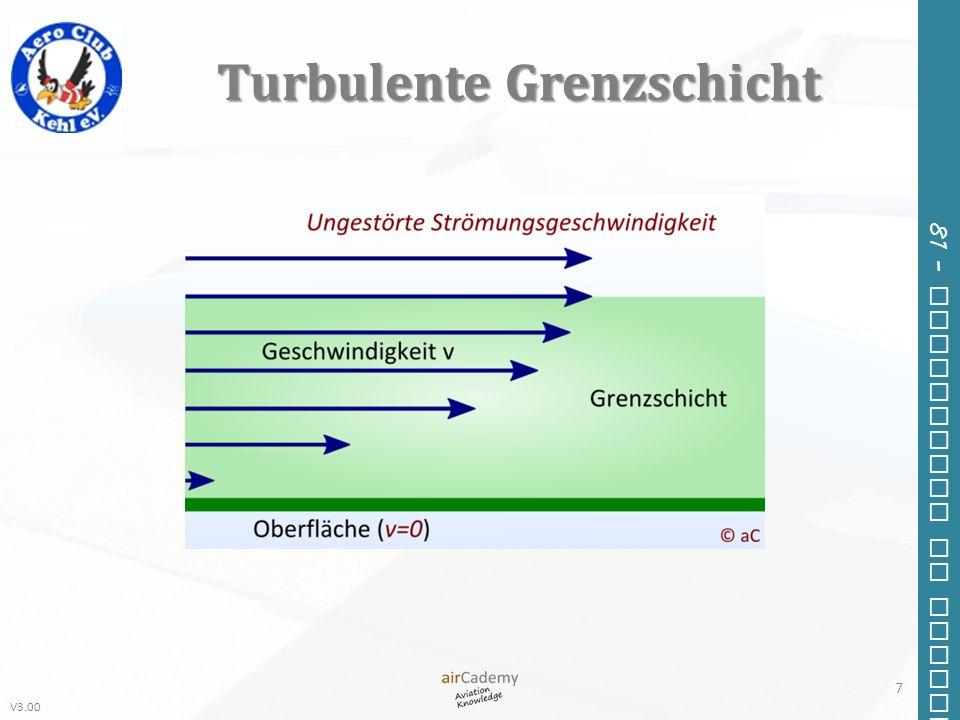 Turbulente Grenzschicht