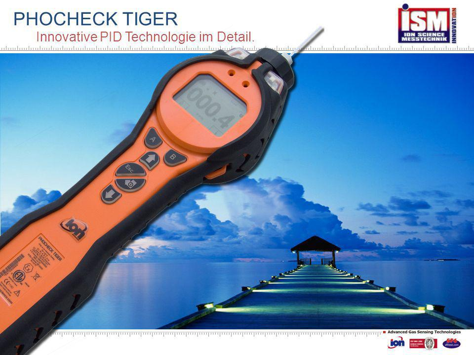 PHOCHECK TIGER Innovative PID Technologie im Detail.