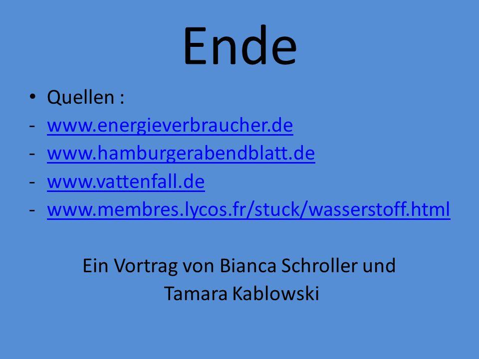 Ein Vortrag von Bianca Schroller und