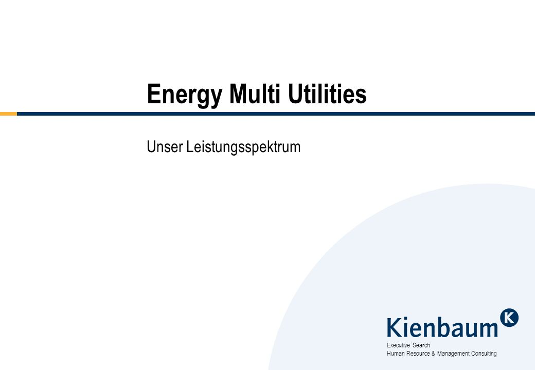 Energy Multi Utilities