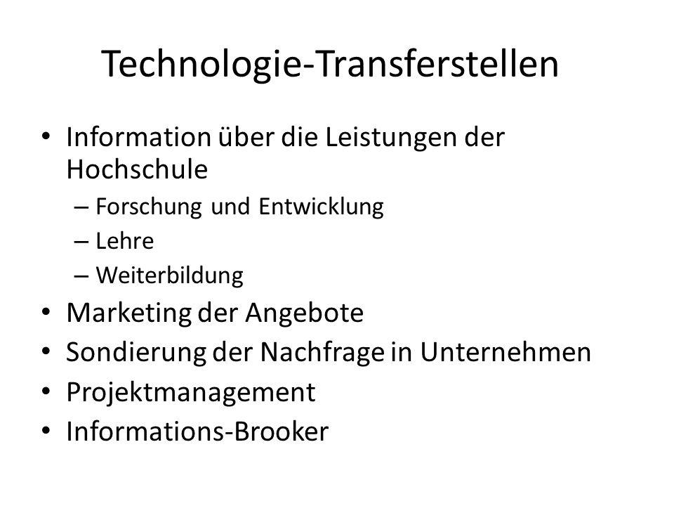 Technologie-Transferstellen