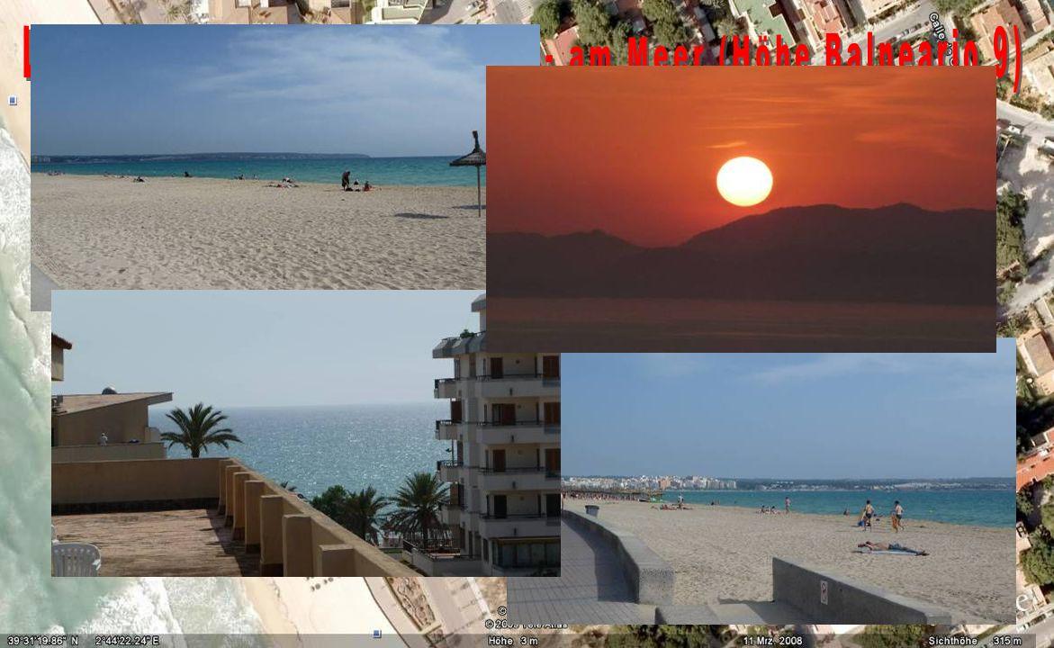 Las Maravillas, Playa de Palma - am Meer (Höhe Balneario 9)