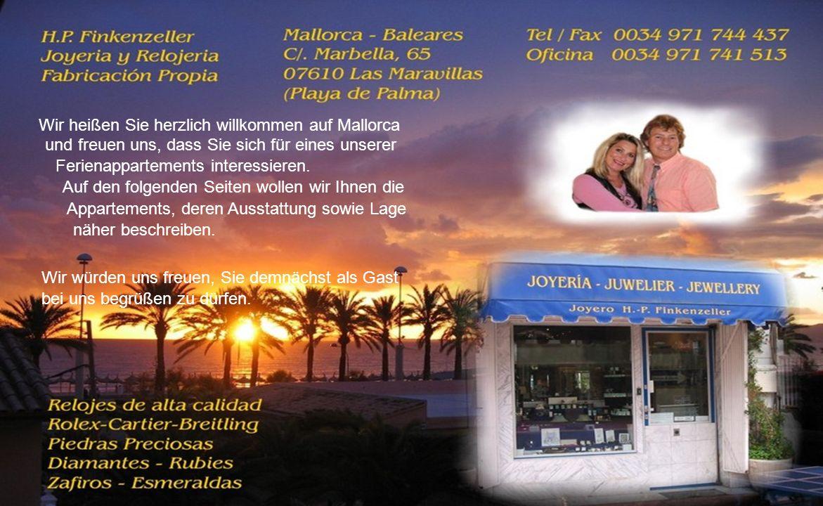 Wir heißen Sie herzlich willkommen auf Mallorca